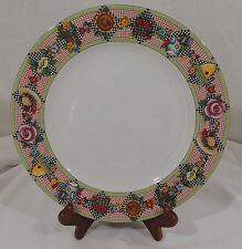 GARDEN TIME by At Home Mary Engelbreit Sunflower Ladybug Birdhouse Dinner Plate
