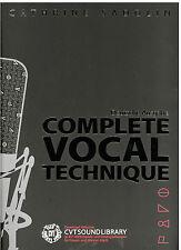 Cathrine SADOLIN - Complete Vocal Technique  -- deutsche Ausgabe