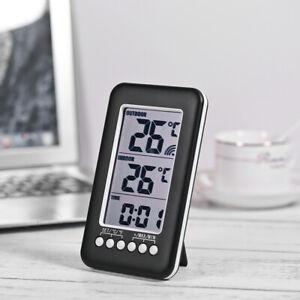 House ℃/℉ Digital Wireless Indoor/Outdoor Thermometer Temperature Meter UK- L9U5