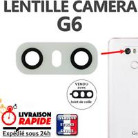 Vitre arrière caméra LG G6 Lentille en verre appareil photo Lens back rear BLANC