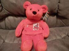 Cleveland Indians Kenny Lofton Salvino's Bammers Bear Plush 1999 Chief Wahoo New