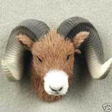 (2) Big Horn Sheep And Dahl Sheep Furlike Animal Magnets! One Of Each! Gifts?