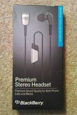 Blackberry Premium Stereo Headset - 3.5mm Audio Jack