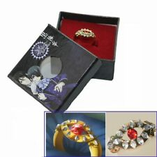 Black Butler Kuroshitsuji Alois Trancy's Cosplay Gold Ring Cosplay Prop Jewelry