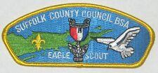 Suffolk Co Council (NY) SA-15b Eagle Scout CSP  BSA