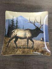 Decorative Elk Plate