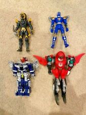 Power Rangers LOT: Jungle Fury Black Lion, Transmax, Red, Blue Rangers!