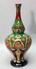 """Fine 11"""" ROYAL BONN ART NOUVEAU Hand-Painted Art Pottery Vase  c. 1920  antique"""