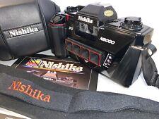Nishiki 3 D Camera   N8000   with Manual, Case & Strap     Beautiful!!!!