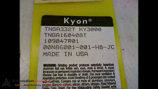 KYON TNGA332T - PACK OF 10 - KY3000 CARBIDE INSERTS, NEW #169207