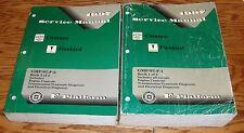 1997 Chevrolet Camaro / Pontiac Firebird Shop Service Manual Lot of 2 97 Chevy