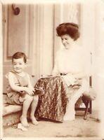 MONFOSCO - SPLENDIDA E INTERESSANTE FOTOGRAFIA - 1911