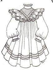 """dress Clothes sewing Pattern Fits 27"""" 28"""" Himstedt large dolls 346"""