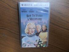 VHS VIDEO HOW TO MARRY A MILLIONAIRE MONROE GRABLE ENGLISCH KEINE DVD SIEHE BILD