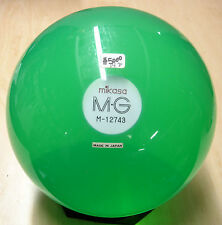 14# (Blast from the PAST) MIKASA mg ACRYLIC Smoky Green Clear Bowling Ball