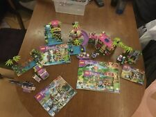 Lego friends lot de 4 jeux 41032-41033-41036-41038