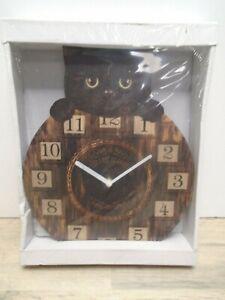 Nemesis Now NEM6050 Kitten Tickin' Wall Clock
