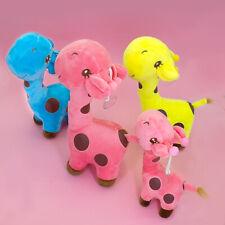 Pet Dog Puppy Aggressive Chew Toy Giraffe Durable Soft Play Plush Toys Stuffed