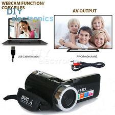 Full HD 1080P 24MP 3'' LCD Digital Video Camera 18X Zoom DC5V USB Mic US