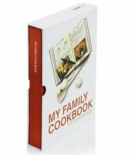 Suck UK MY FAMILY COOKBOOK Red RECIPE Cook Book NOTEBOOK Blank Pages
