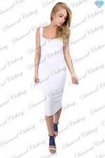 Vestiti da donna bianchi con spalline senza maniche