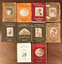 Antique Collection Beatrix Potter Peter Rabbit Series Childs Story Books (10)