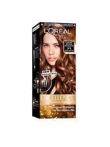 L'Oreal Paris Excellence Fashion Highlights Hair Color Caramel Brown 29ml + 16g
