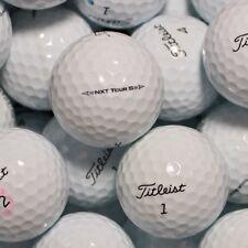 50 Golfbälle Titleist NXT Tour S Modell 2017 AAA/AAAA Lakeballs Bälle golf balls