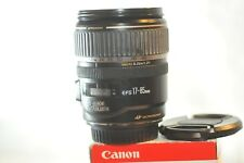 Canon EF-S 17-85mm f/4-5.6 IS USM Lens for EOS Digital T5 T6 60D 70D 80D 7D