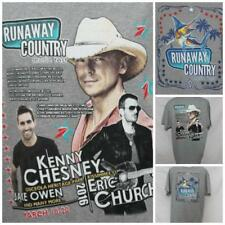 "Kenny Chesney Eric Church Runaway Country Tshirt Sailfish XXL 26"" Pit2Pit J-28"