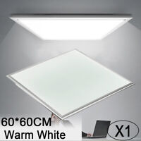 36W 60x60cm LED Recessed Ceiling Panel Down Light Warm White Ultra-thin Lamp