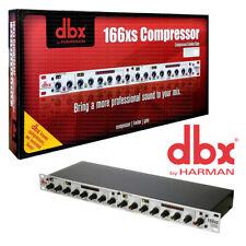 DBX 166XS Dual Compressor / Limiter / Gate 691991401268
