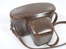 Leicaflex sl duro cuero bolso bolso de cuero auténtico con cuero cinturón incl. Strap