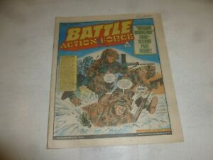 BATTLE ACTION FORCE Comic - Date 11/02/1984 - UK Paper Comic - Inc Game Pages