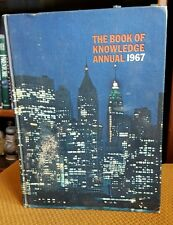 The Book of Knowledge Annual 1967 1966 History VTG Hardcover Grolier Publishing