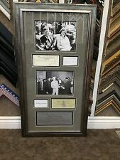 John Kennedy, Jacqueline Kennedy, Jack Ruby & Lee Harvey Oswald Replica Display