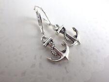 Anker - mini Ohrringe mit Brisur maritim Segler