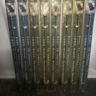 Nickel Plated Brass Stair Rods Lot of 8 NOS VTG Original Packaging