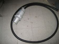 Crouse Hinds AP204612 Pin & Sleeve Plug 200A 3W4P Arktite w/ 13' cable