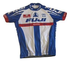 Cycling Fuji Audi Xpado Jersey Size XXL NLV