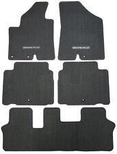New Floor Mats Replacement Carpeted Floors Front Rear Set Veracruz Text. Grey
