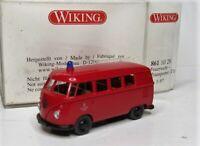 Wiking 1:87 VW T1 Bus OVP 861 10 Feuerwehr Berlin