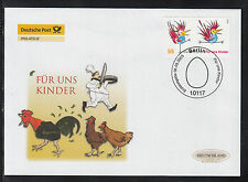 Germany 2005 FDC  - For us children: cooking, chickens, cartoons