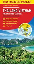 Thailand, Vietnam, Laos, Cambodia Marco Polo Map (Marco Polo Maps) by n/a | Map