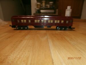 VINTAGE AMERICAN FLYER S-SCALE  LIGHTED  PULLMAN CAR-652