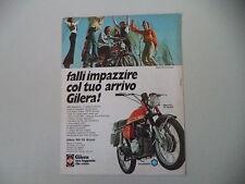 advertising Pubblicità 1973 MOTO GILERA 150 5V ARCORE