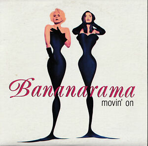 """BANANARAMA """"Movin' On / Treat Me Right"""" Rare 1992 Australia Issue CD Single"""