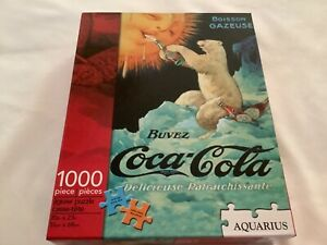 Boisson GAZEUSE - Coca Cola Bear 1000 Piece Jigsaw Puzzle - Aquarius