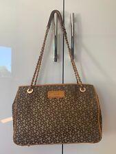 DKNY Designer Original Tote bags used Beige Brown Large Bag Great Everyday Use
