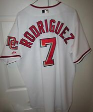 2010 MLB Washington Nationals Ivan Pudge Rodriguez #7 Team Issued Home Jersey
